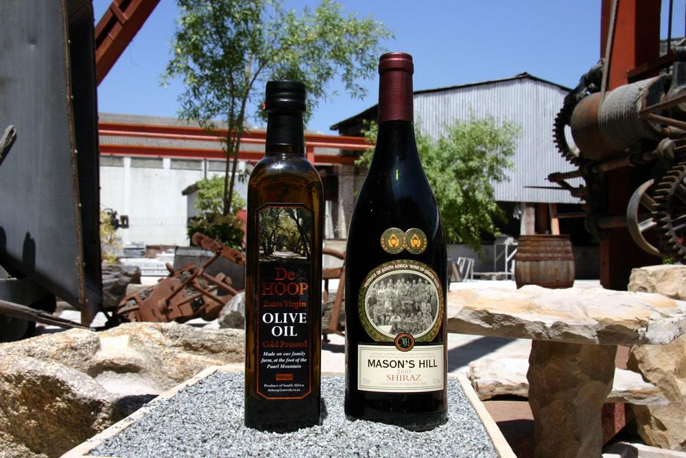Mason's Wine & De Hoop Olive Oil